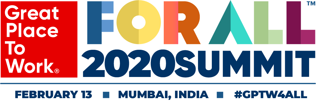 2020, Great Place to Work in India, India's best workplaces